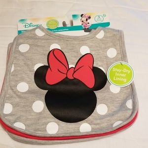 NWT Disney baby bibs